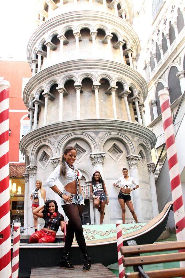 As fukeiras do Bonde das Maravilhas em seu novo estilo (Foto: Daniel Pinheiro/Divulgação)