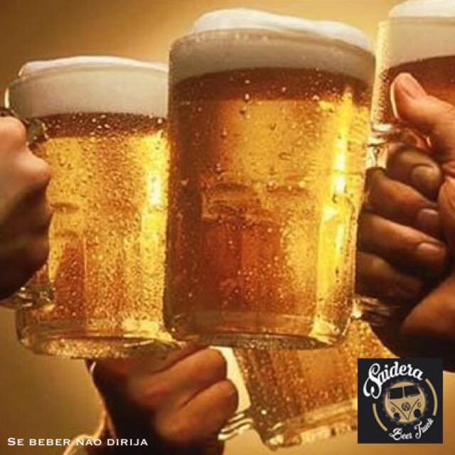 Saideira Beer Truck Foto